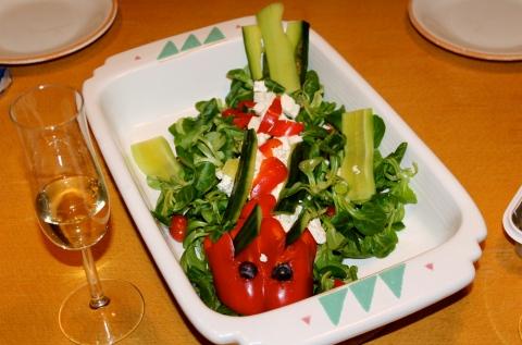 Drache-Salat 2011-12